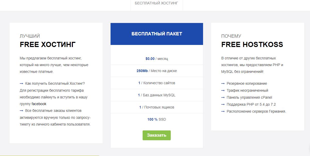 создать сервер бесплатном хостинге